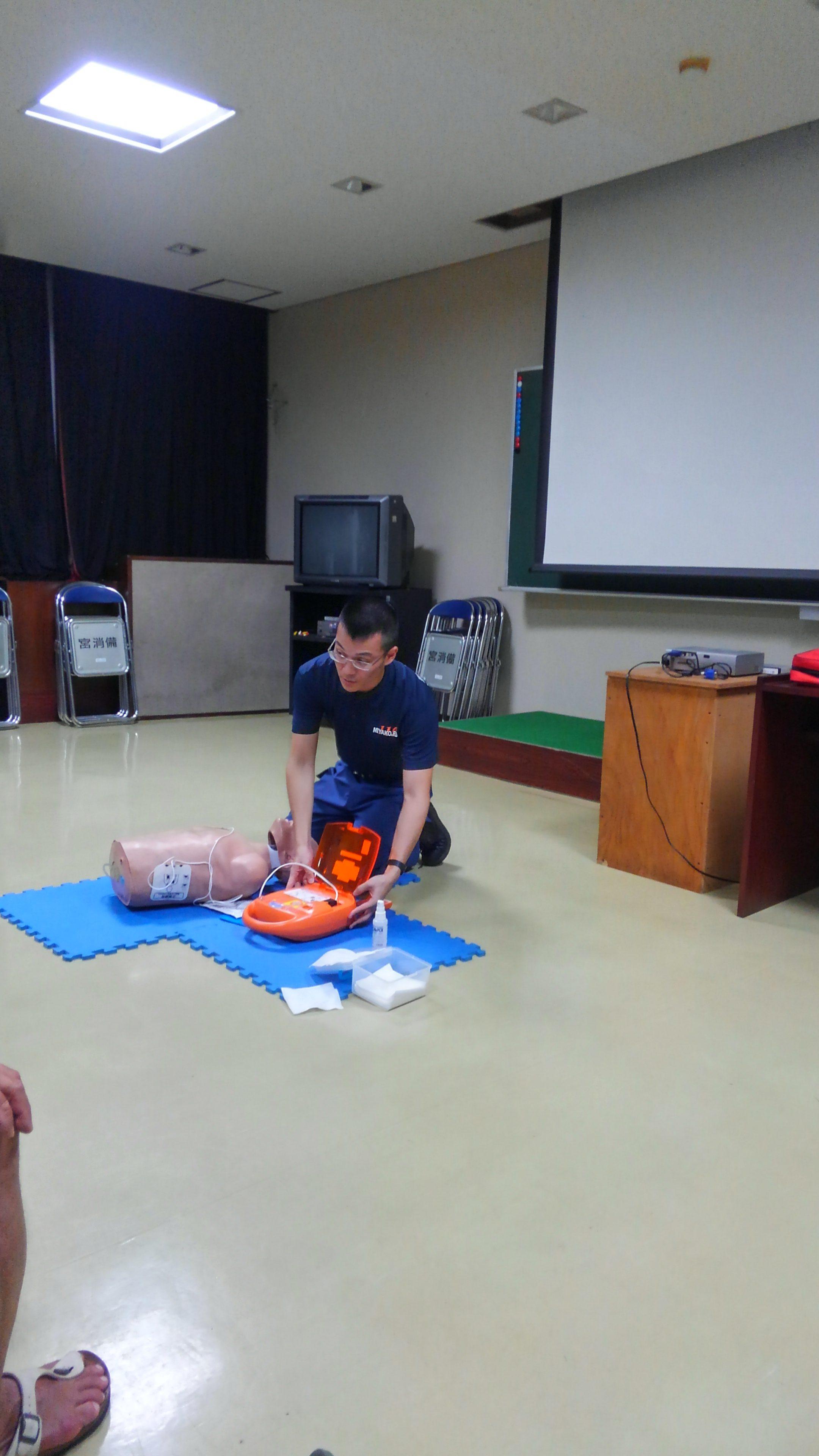 2017年12月4日OMSB主催レスキュ-/CPR講習会