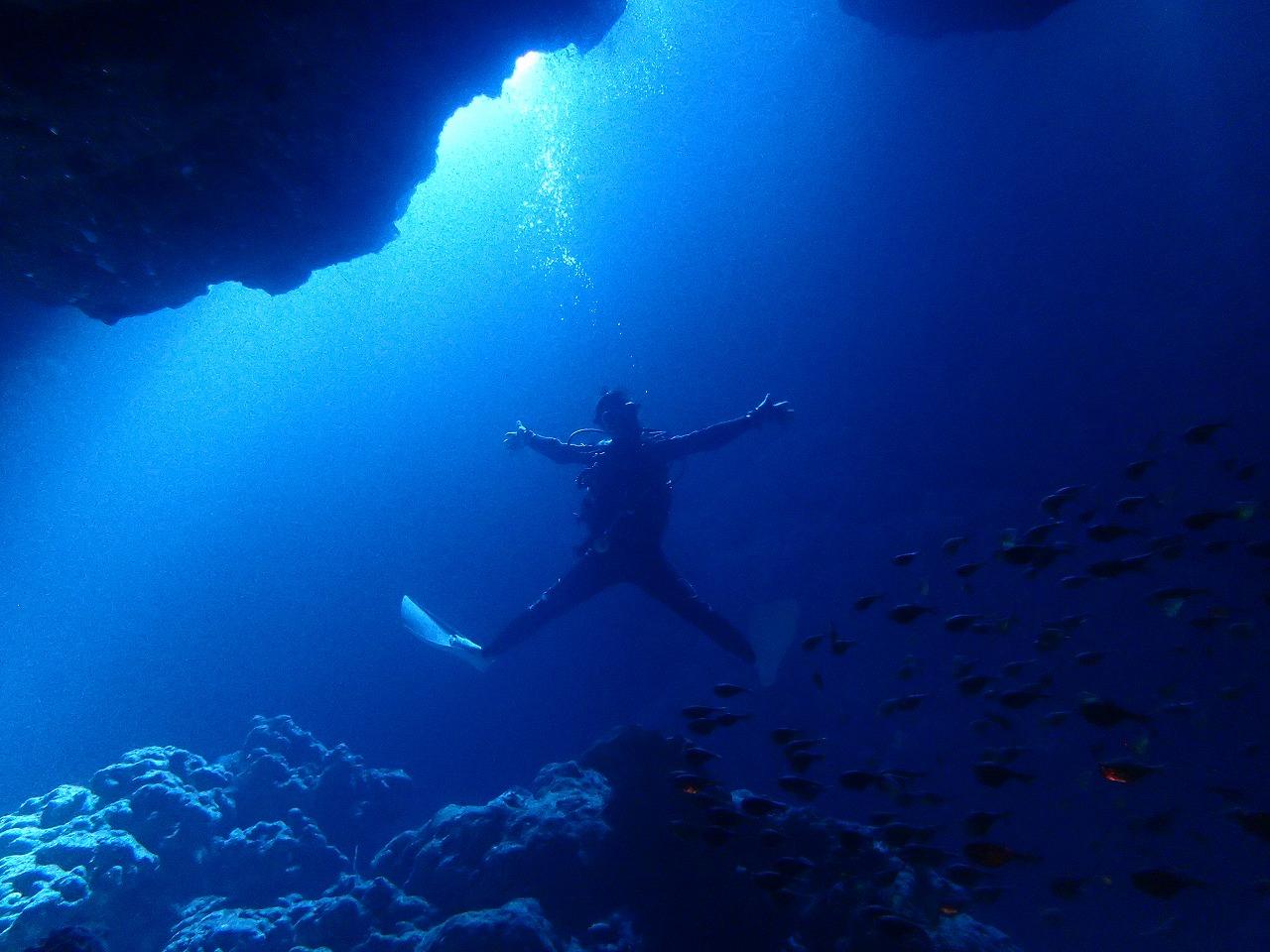ダイビングって楽しい