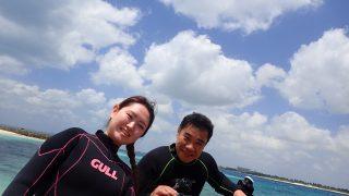ビーチ体験ダイビング
